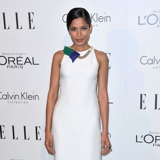 Freida Pinto in ELLE's 18th Annual Women in Hollywood Tribute - Red Carpet