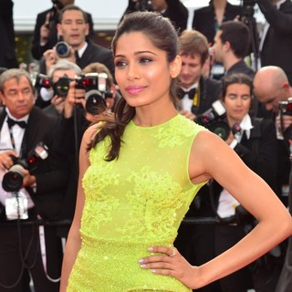 Freida Pinto in Rust and Bone Premiere - During The 65th Annual Cannes Film Festival