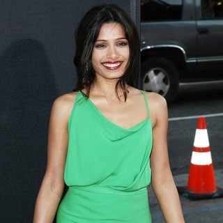 Freida Pinto in The Premiere of 20th Century Fox's Rise of the Planet of the Apes - Arrivals