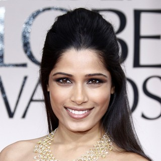 Freida Pinto in The 69th Annual Golden Globe Awards - Arrivals