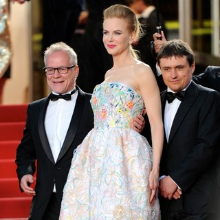 Thierry Fremaux, Nicole Kidman, Daniel Auteuil in Opening Ceremony of The 66th Cannes Film Festival - The Great Gatsby - Premiere