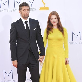 Bart Freundlich, Julianne Moore in 64th Annual Primetime Emmy Awards - Arrivals