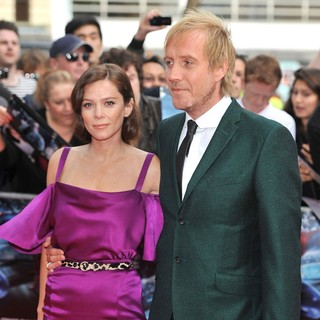 Anna Friel, Rhys Ifans in The Premiere of The Amazing Spider-Man
