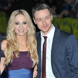 Joanne Froggatt, James McAvoy in Filth UK Film Premiere - Arrivals