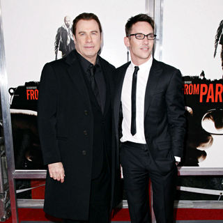 John Travolta, Jonathan Rhys-Meyers in 'From Paris with Love' premiere - Arrivals