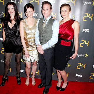 Annie Wersching, Mary Lynn Rajskub, Kiefer Sutherland, Katee Sackhoff in '24' Season Eight Premiere