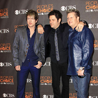 Rascal Flatts in People's Choice Awards 2010