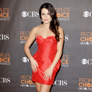 Lea Michele in People's Choice Awards 2010