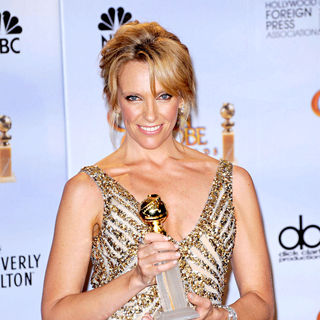Toni Collette in 67th Annual Golden Globe awards - Press Room