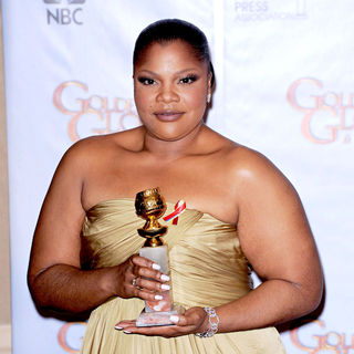 Mo'Nique in 67th Annual Golden Globe awards - Press Room