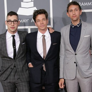 Fun. in 55th Annual GRAMMY Awards - Arrivals