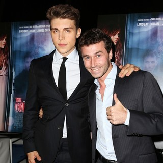 Nolan Gerard Funk, James Deen in IFC Film's The Canyons LA Premiere