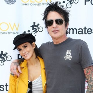 Brittany Furlan, Tommy Lee in Off The Menu x Postmates: Secret Burger Showdown