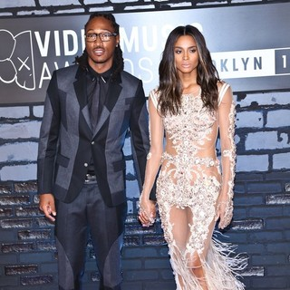 Future, Ciara in 2013 MTV Video Music Awards - Arrivals