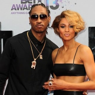 Future, Ciara in The 2013 BET Awards - Arrivals