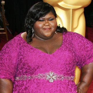 Gabourey Sidibe in The 86th Annual Oscars - Red Carpet Arrivals