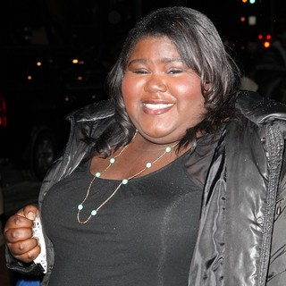 Gabourey Sidibe in Warm Bodies Premiere