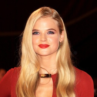 Gabriella Wilde in The Three Musketeers Film Premiere - Arrivals