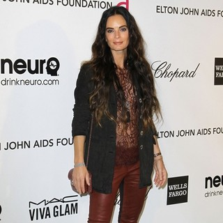 Gabrielle Anwar in 21st Annual Elton John AIDS Foundation's Oscar Viewing Party