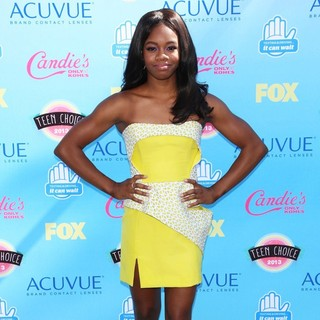 Gabrielle Douglas in 2013 Teen Choice Awards