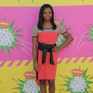 Gabrielle Douglas in Nickelodeon's 26th Annual Kids' Choice Awards - Arrivals