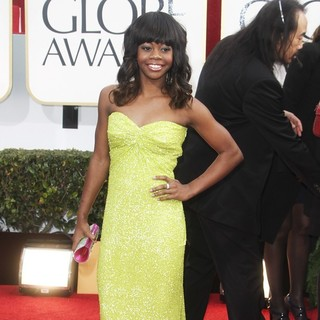 Gabrielle Douglas in 70th Annual Golden Globe Awards - Arrivals