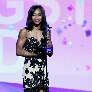 Gabrielle Douglas in The 2013 BET Awards - Inside