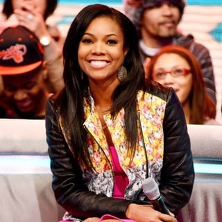 Gabrielle Union in Gabrielle Union Appearing on BET's 106 and Park