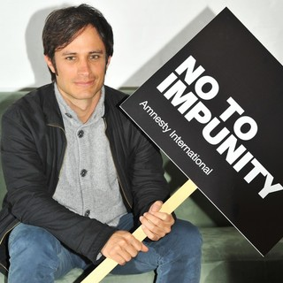 Gael Garcia Bernal in Gael Garcia Bernal Launches Amnesty International's Call to End Impunity for Past Human Rights Abuse