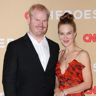 Jim Gaffigan in 2013 CNN Heroes: An All Star Tribute - Red Carpet Arrivals - gaffigan-noth-2013-cnn-heroes-02