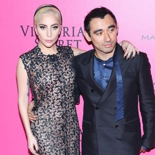 Lady GaGa, Nicola Formichetti-2016 Victoria's Secret Fashion Show - Arrivals