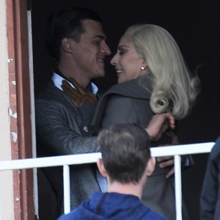 Filming A Kissing Scene in American Horror Story: Hotel