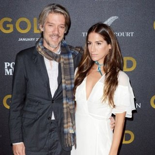 Stephen Gaghan, Minnie Mortimer-World Premiere of Gold - Red Carpet Arrivals