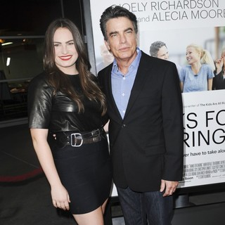 Kathryn Gallagher, Peter Gallagher in Thanks for Sharing Los Angeles Premiere