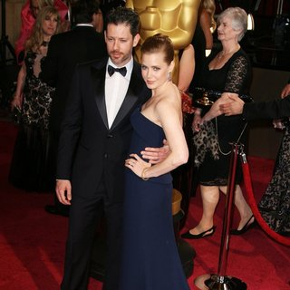 Darren Le Gallo, Amy Adams in The 86th Annual Oscars - Red Carpet Arrivals