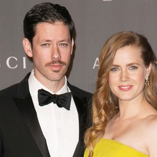 Darren Le Gallo, Amy Adams in LACMA 2012 Art + Film Gala - Arrivals