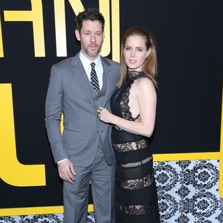 Darren Le Gallo, Amy Adams in American Hustle New York Premiere