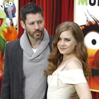 Darren Le Gallo, Amy Adams in The Premiere of Walt Disney Pictures' The Muppets - Arrivals