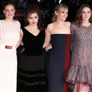 Romola Garai, Helena Bonham Carter, Anne-Marie Duff, Carey Mulligan in BFI London Film Festival 2015 - Opening Night - Suffragette Premiere - Arrivals