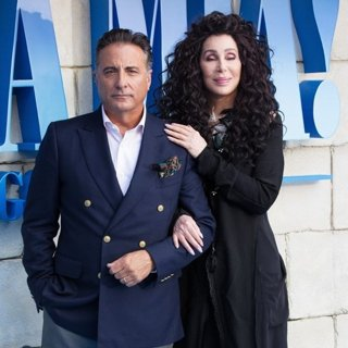 Andy Garcia, Cher in The World Premiere of Mamma Mia! Here We Go Again - Arrivals