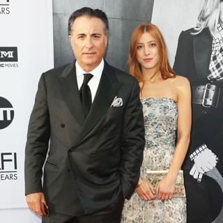 Andy Garcia, Daniella Garcia-Lorido in 45th AFI Life Achievement Award - Arrivals