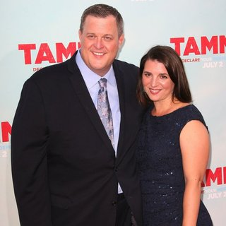 Billy Gardell, Patty Knight in Los Angeles Premiere of Tammy - Arrivals