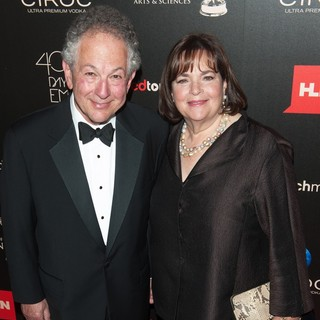 Jeffrey Garten, Ina Rosenberg in The 40th Annual Daytime Emmy Awards - Arrivals