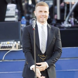 Gary Barlow in The Diamond Jubilee Concert