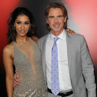 Janina Gavankar, Sam Trammell in Premiere of HBO's True Blood Season 6 - Arrivals