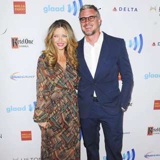 Rebecca Gayheart, Eric Dane in 25th Annual GLAAD Media Awards