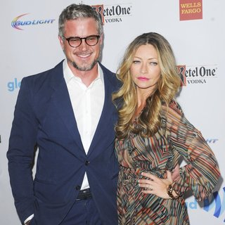Eric Dane, Rebecca Gayheart in 25th Annual GLAAD Media Awards