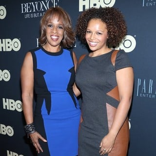 Gayle King in Beyonce: Life Is But a Dream New York Premiere