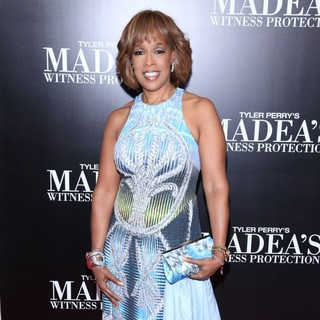 Gayle King in Tyler Perry's Madea's Witness Protection New York Premiere