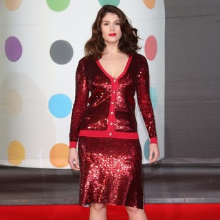 Gemma Arterton in The 2013 Brit Awards - Arrivals - gemma-arterton-2013-brit-awards-04